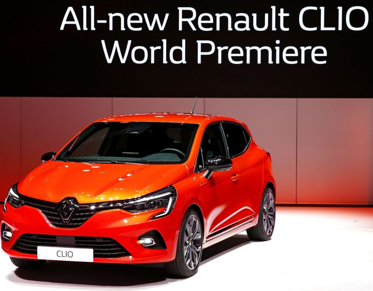 9) Renault Clio – 3879 solgte. Foto: Scanpix