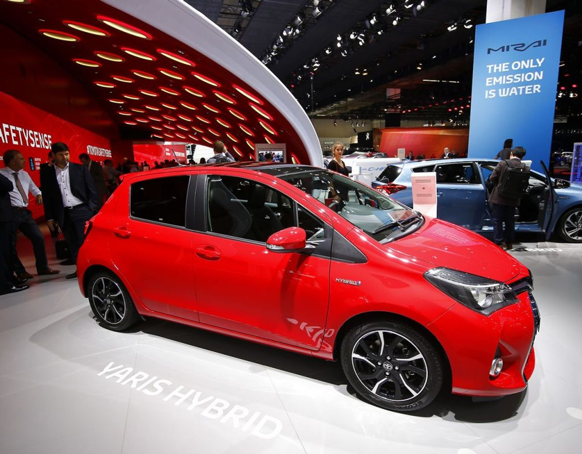 6) Toyota Yaris – 4487 solgte. Foto: Scanpix