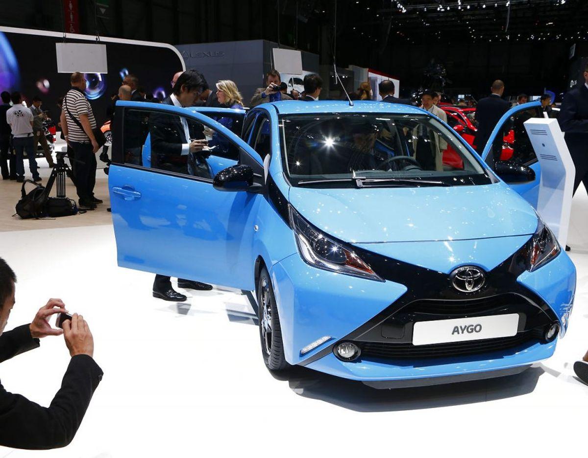 5) Toyota Aygo – 4608 solgte. Foto: Scanpix