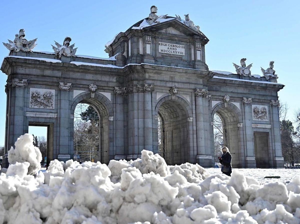 Puerta de Alcala i Madrid. Foto: GABRIEL BOUYS/Scanpix.