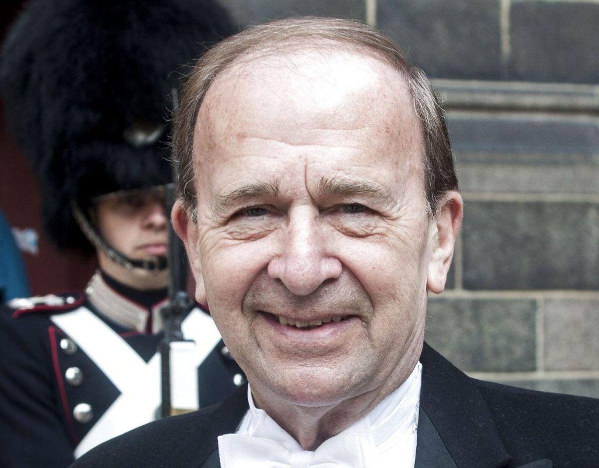 Gentoftes borgmester Hans Toft har tidligere modtaget ridderkorset. (Foto: Bjarne Lüthcke/Ritzau Scanpix)