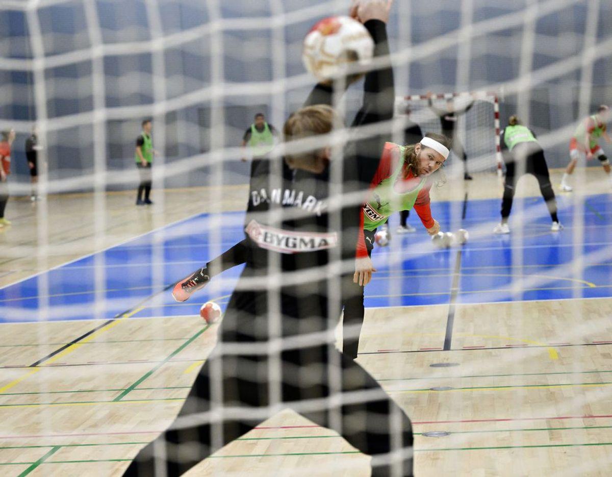 Håndbold-VM bliver uden tilskuere. Foto: Philip Davali/Ritzau Scanpix
