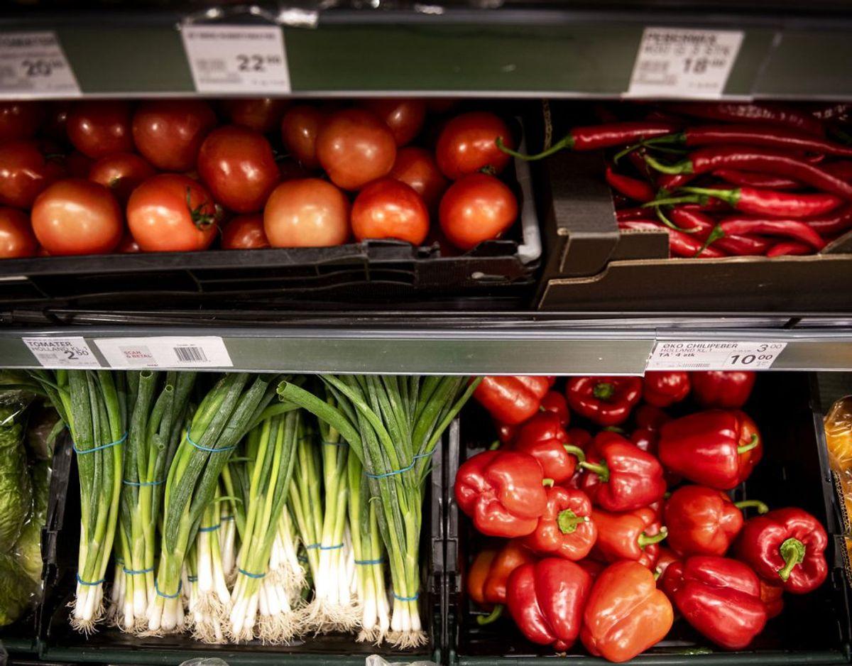 2) Spis flere grøntsager og frugter. Foto: Scanpix