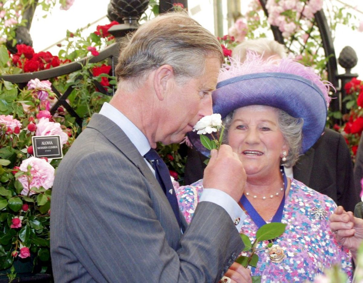 Lady Mary Colman ses her sammen med prins Charles. Klik videre for flere billeder. Foto: Shutterstock/Ritzau Scanpix.