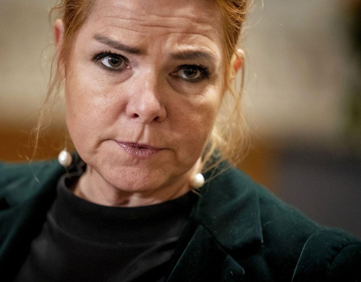 Inger Støjberg går af som næstformand i Venstre. Foto: Scanpix