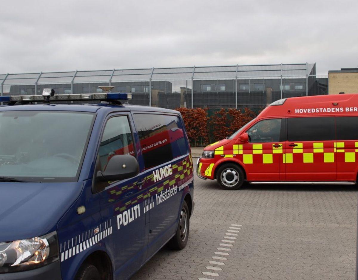 Københavns Politi har ledt efter Bjarne. KLIK for mere. Foto: Presse-fotos.dk.
