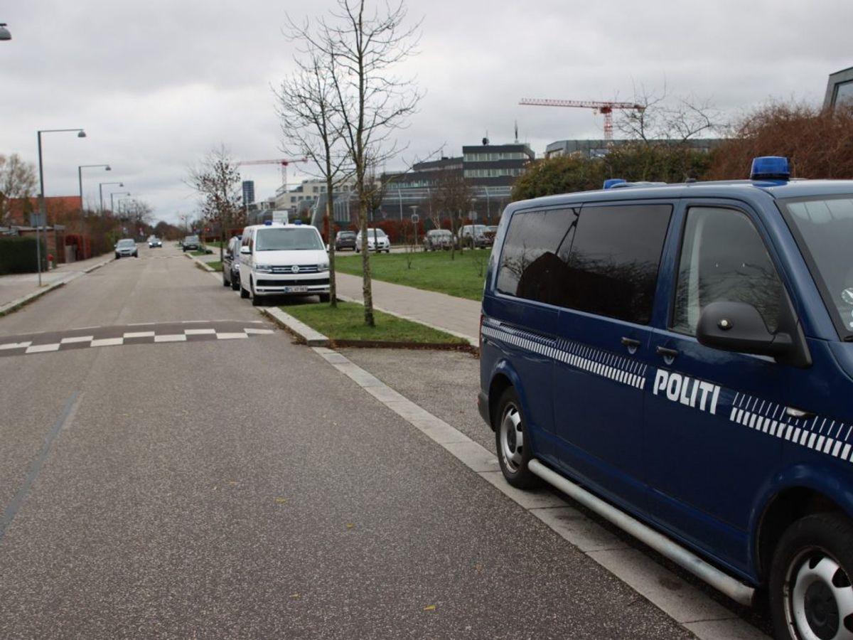 Københavns Politi har ledt efter Bjarne. Foto: Presse-fotos.dk.