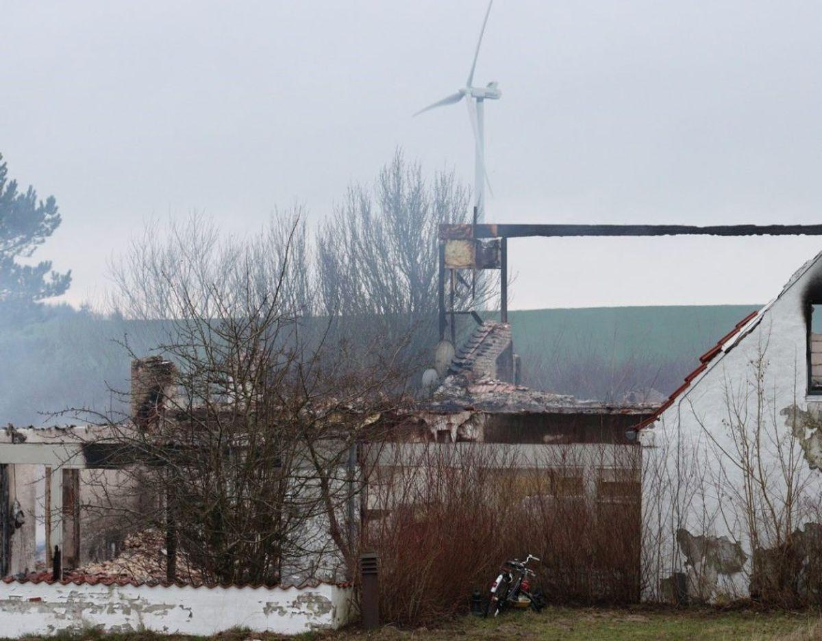 Det legendariske Puk Recording Studio nord for Randers er ikke mere. Foto: Presse-fotos.dk