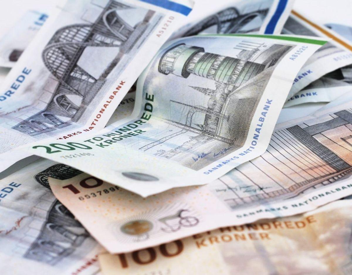 Årlig indkomst før skat: 500.000 – udbetaling på 21.000 kroner efter skat.