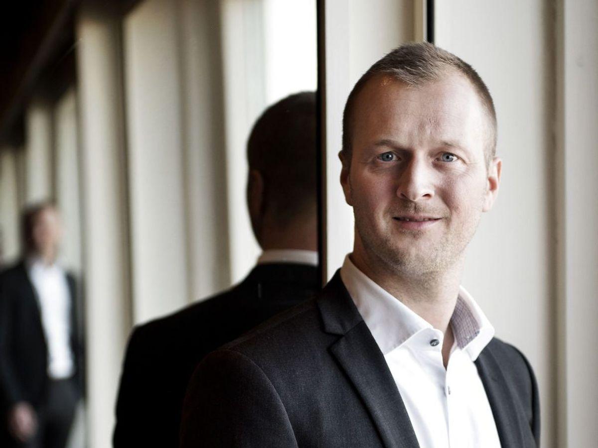 Thomas Kirk Kristiansen får samme placering med samme beløb. Foto: Linda Kastrup/Ritzau Scanpix.