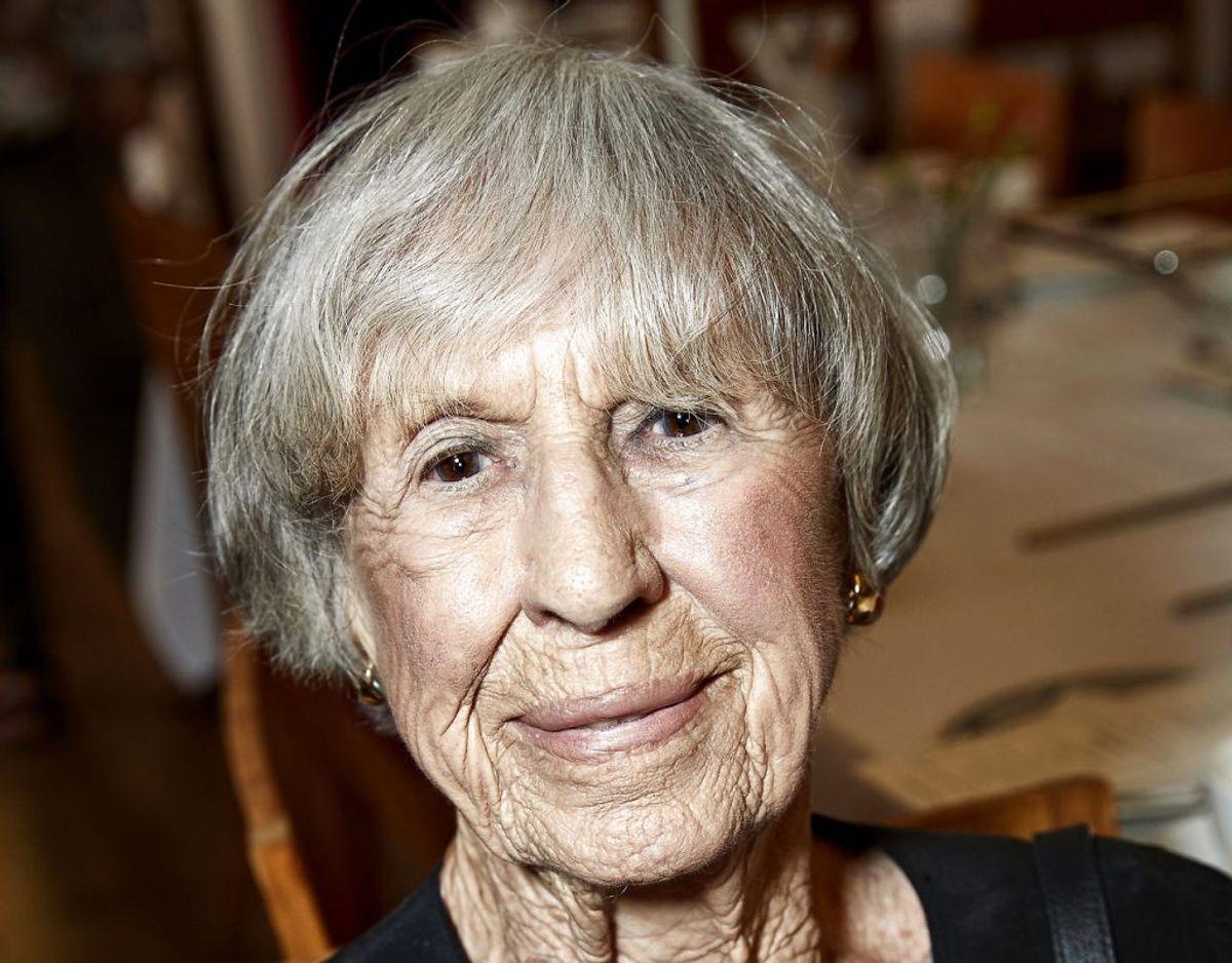 103-årige Lise Nørgaard kan se frem til at modtage livslang økonomisk støtte. Arkivfoto: Scanpix.