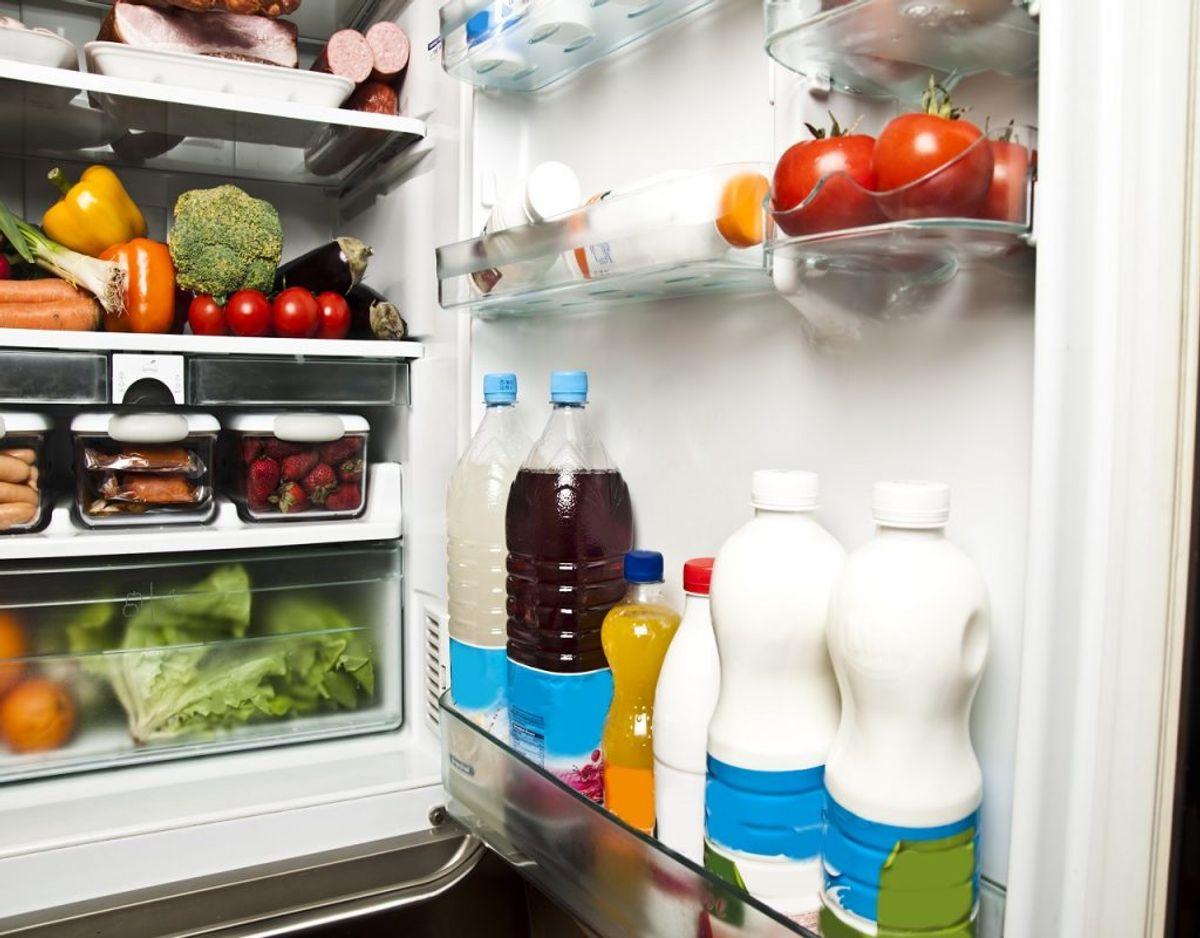 Køleskabet bruger du hver dag, men få det tjekket igennem om noget er for gammelt. Foto: Colourbox