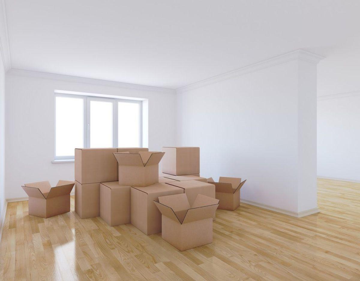 Har du papkasser fra flytninger, gamle TV-bokse eller lignende, så ved du også, at det er et sandt helvede at gemme. Foto: Colourbox