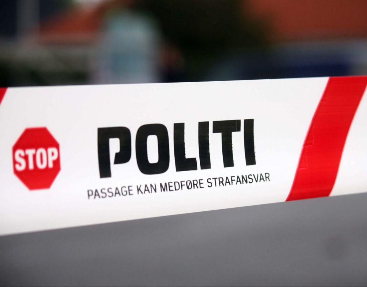 En 28-årig mand blev fredag nat overfaldet og røvet på åben gade. Foto: Elo Christoffersen.