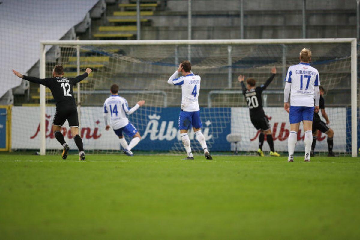 En sen udligning sikrede Sønderjyske et enkelt point i søndagens udekamp mod OB. Foto: Frank Cilius/Scanpix
