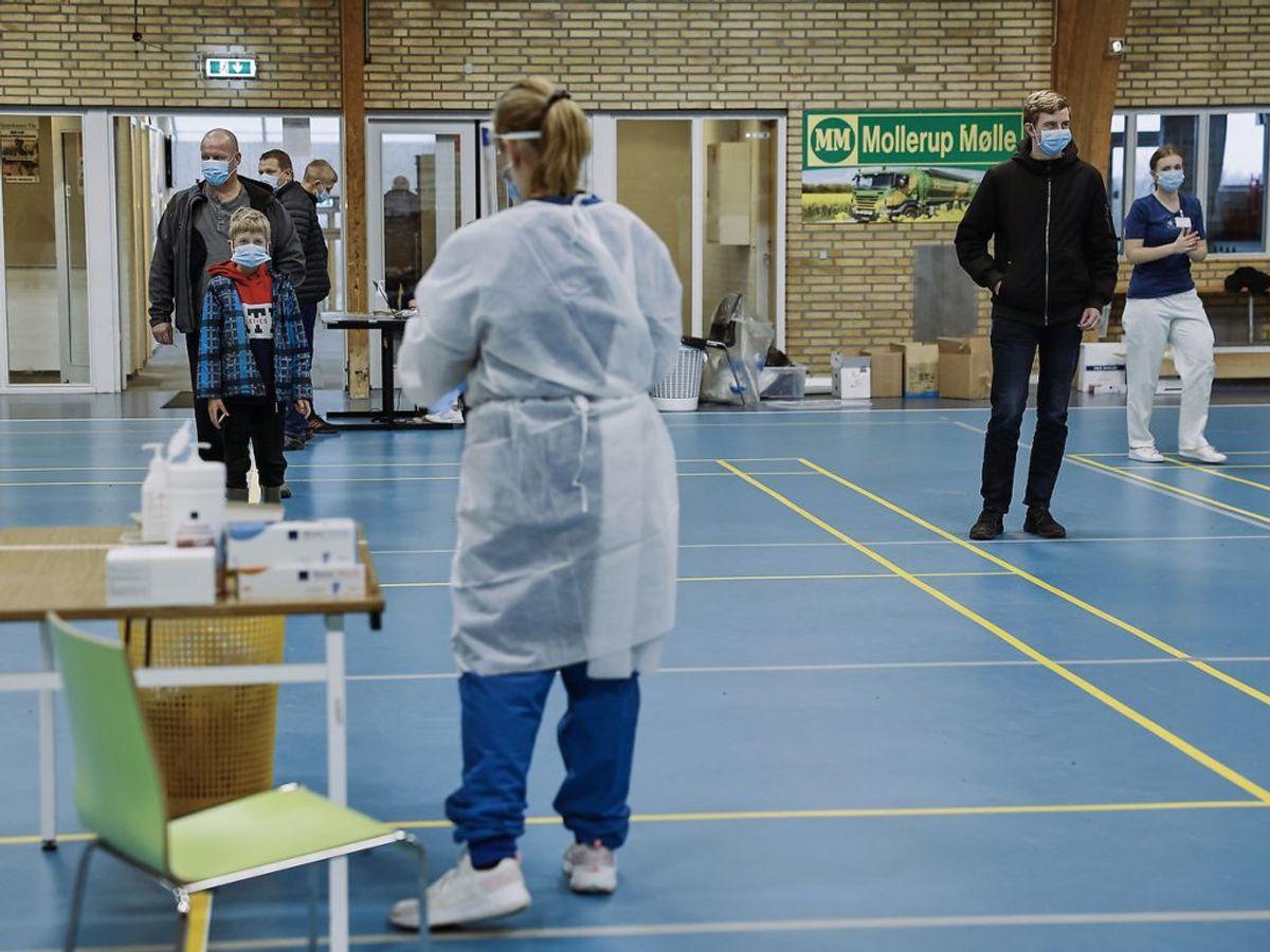 Der er registreret 850 nye coronatilfælde. KLIK for mere info. Foto : Claus Bjørn Larsen/Scanpix 2020