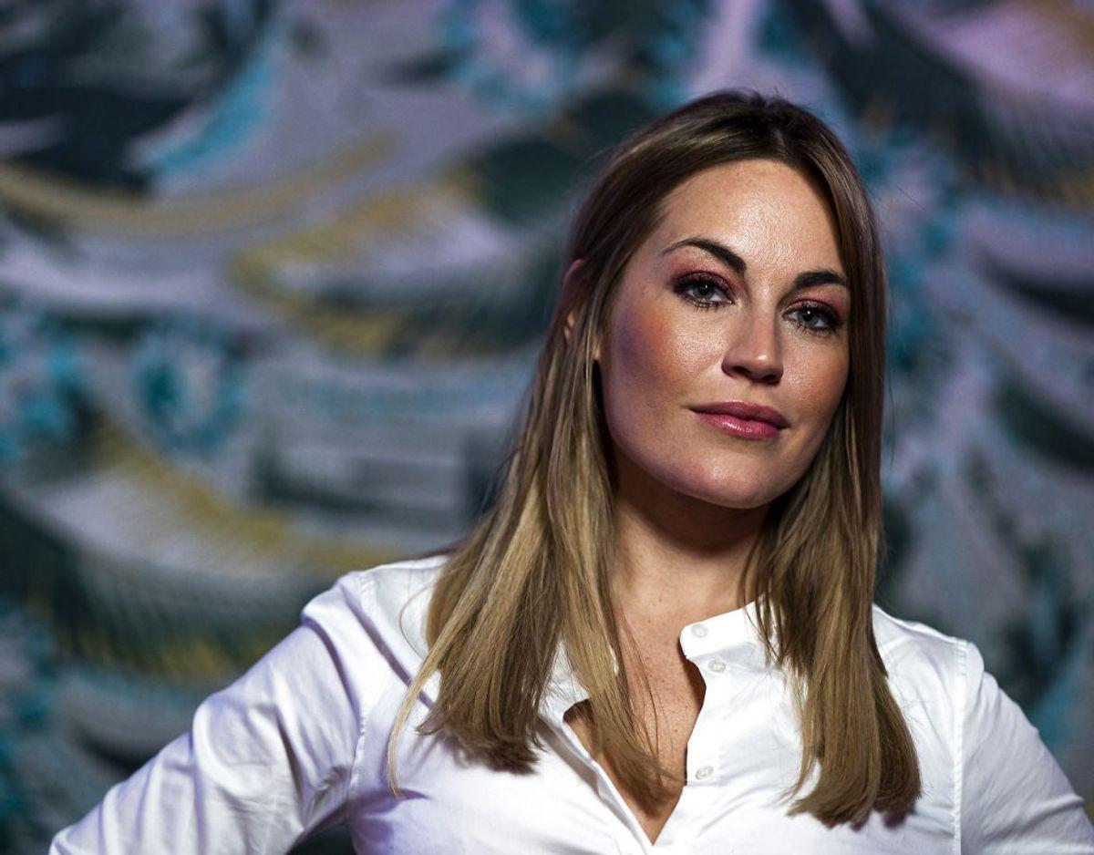 Amalie Szigethy, der om kun en uges tid skal føde sit andet barn, har netop mistet sin far. Arkivfoto: Scanpix.
