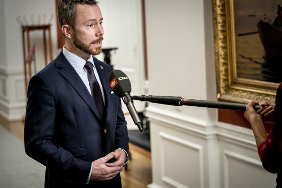 """Jakob Ellemann-Jensen mener, at initiativerne """"ikke blot giver vækst på den korte bane, som også rækker længere frem"""". Og det er nødvendigt i lyset af den """"alvorlige situation"""", Danmark er i på grund af coronakrisen. (Arkivfoto) Foto: Mads Claus Rasmussen/Scanpix"""