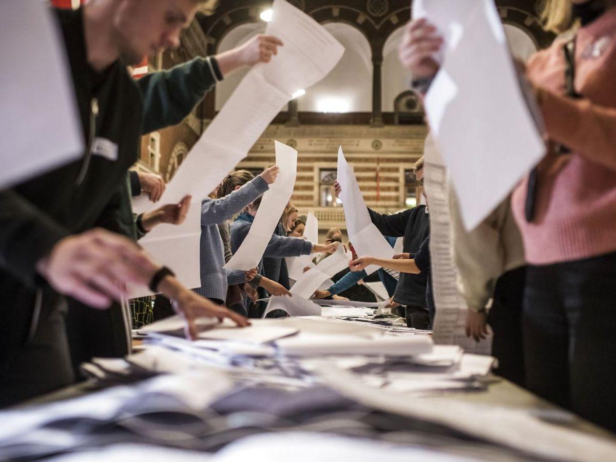 Samtidig med kommunalvalget holdes også valg til regionsrådene i landets fem regioner. (Foto: Asger Ladefoged/Scanpix 2017)