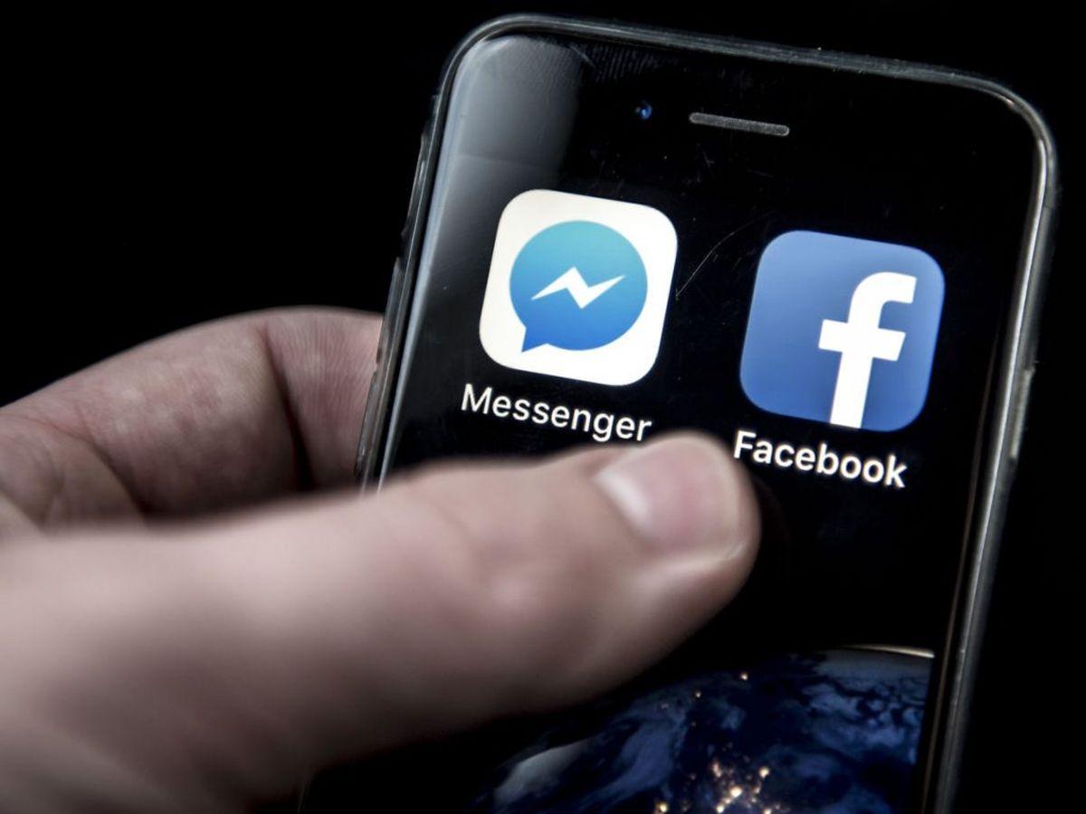 Flere borgere har indbetalt penge til en falsk långiver, der henvender sig på Messenger. Foto: Mads Claus Rasmussen/Ritzau Scanpix.