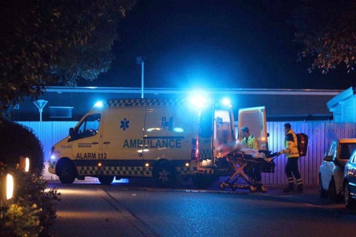 Drabet skete ved Akacieparken i Valby. Klik for flere billeder fra sagen. Foto: Presse-fotos.dk