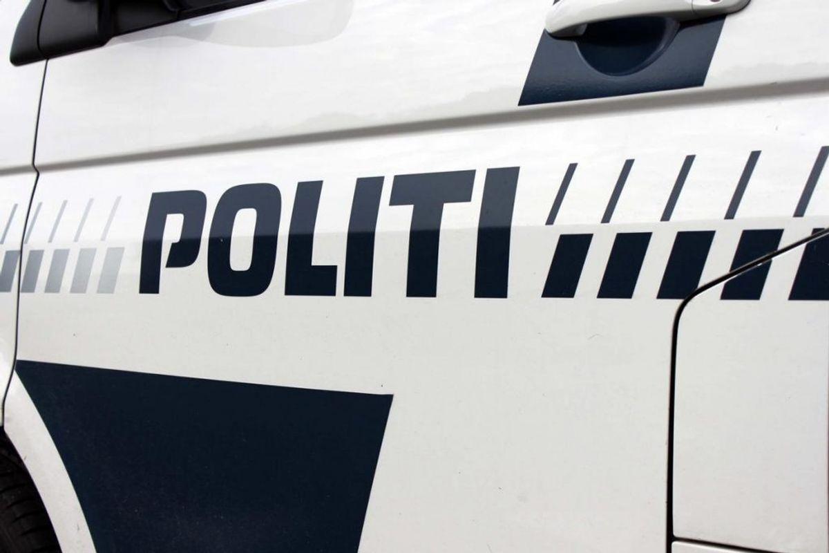 Den efterlyste er anholdt. Foto: Elo Christoffersen.