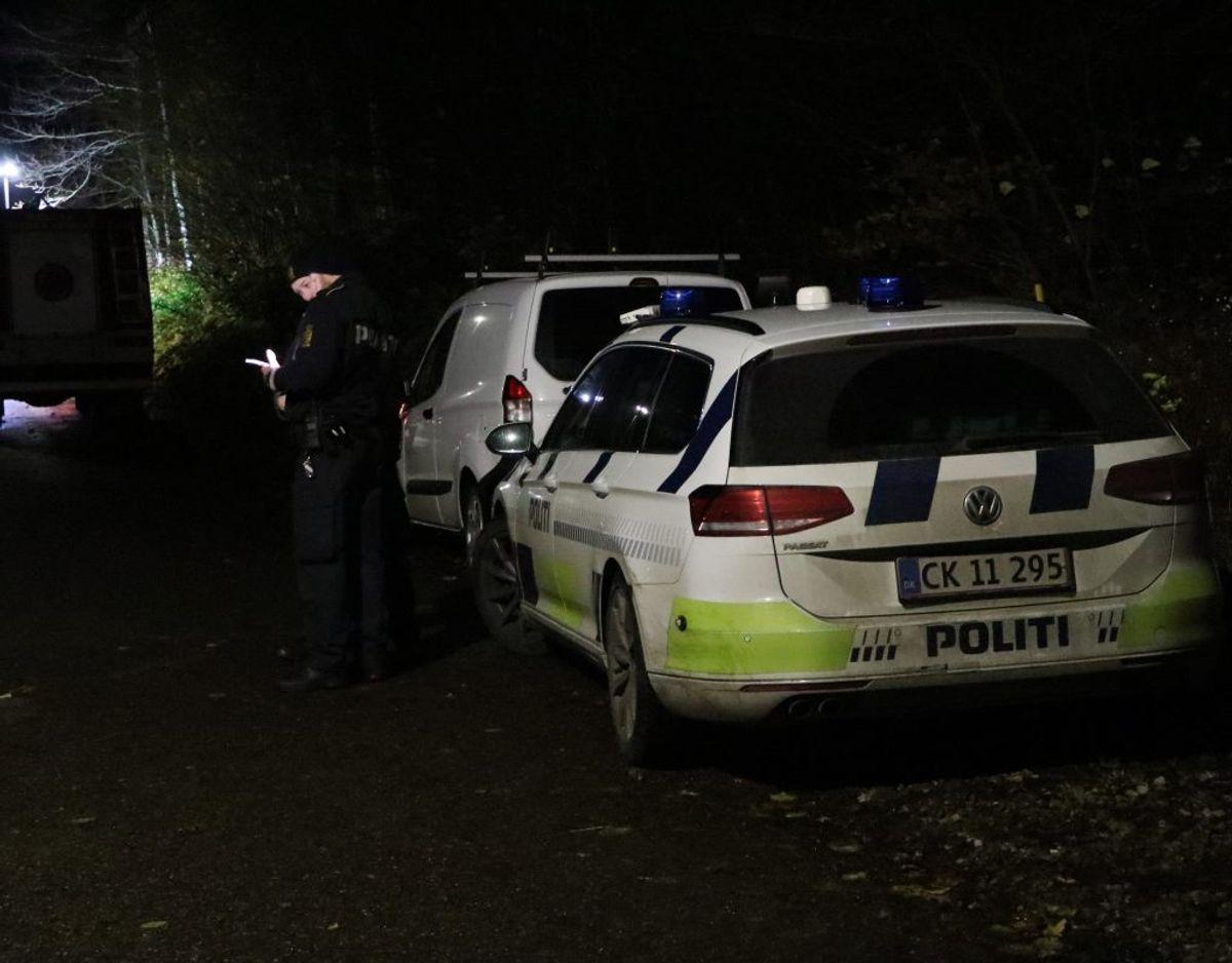 Politiet blev kaldt ud. Foto: Øxenholt Foto.