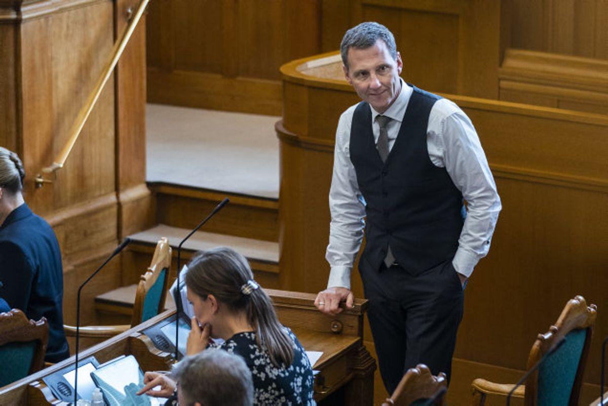 Nick Hækkerup (S) afviser, at der er sket brud på Grundloven i sagen om den ulovlige aflivning af mink. Foto: Martin Sylvest/Scanpix