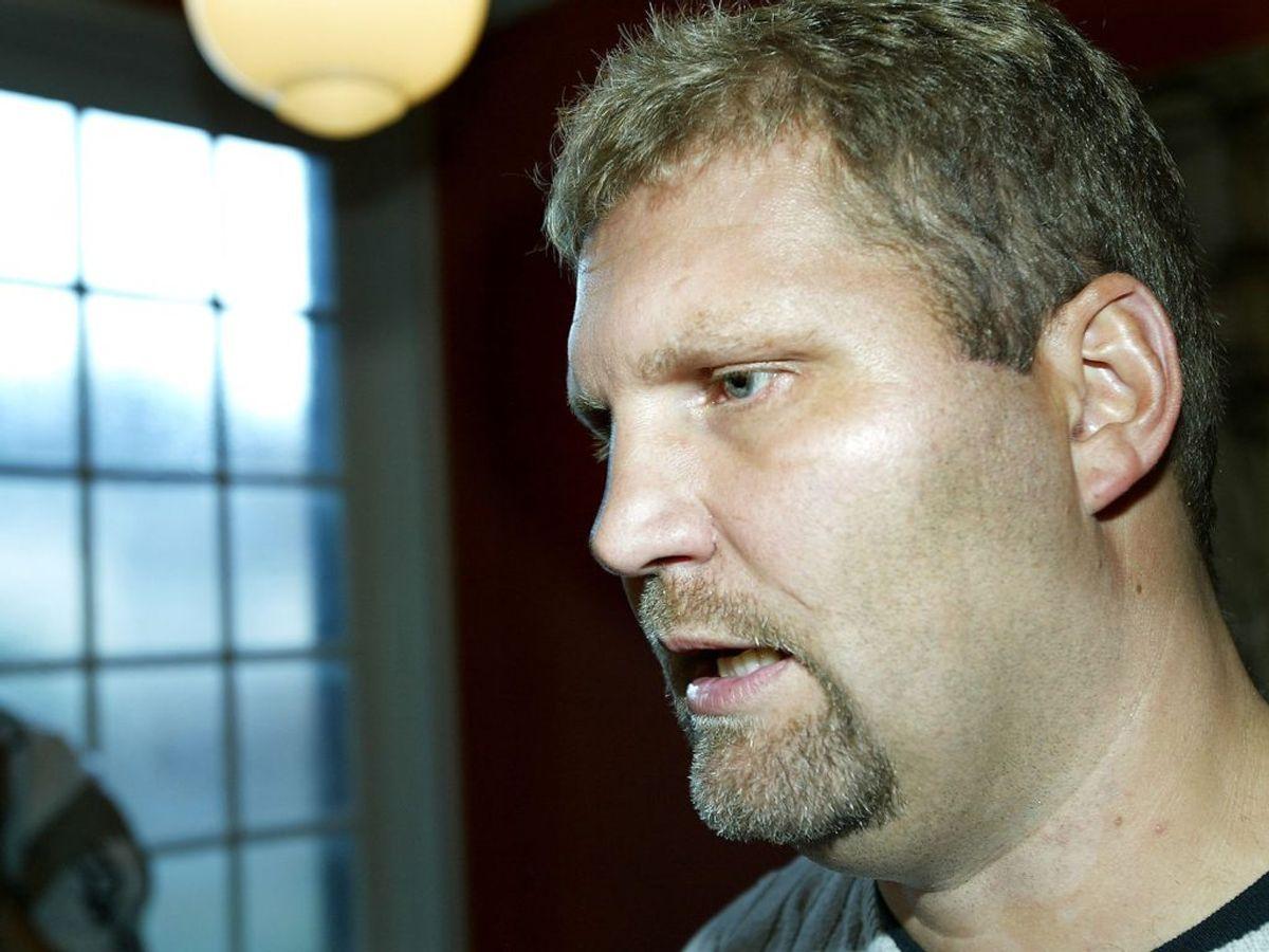 Ifølge Ekstra Bladet er han i 'bad standing'. (Foto: HENNING BAGGER/SCANPIX NORDFOTO 2002)