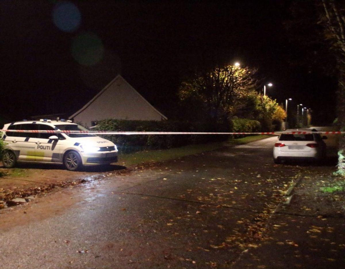 Politiet holder øje med en udenlandsk indregistreret Audi i Kalundborg. Det er uvist, om den er relevant for sagen. Foto: Presse-fotos.dk
