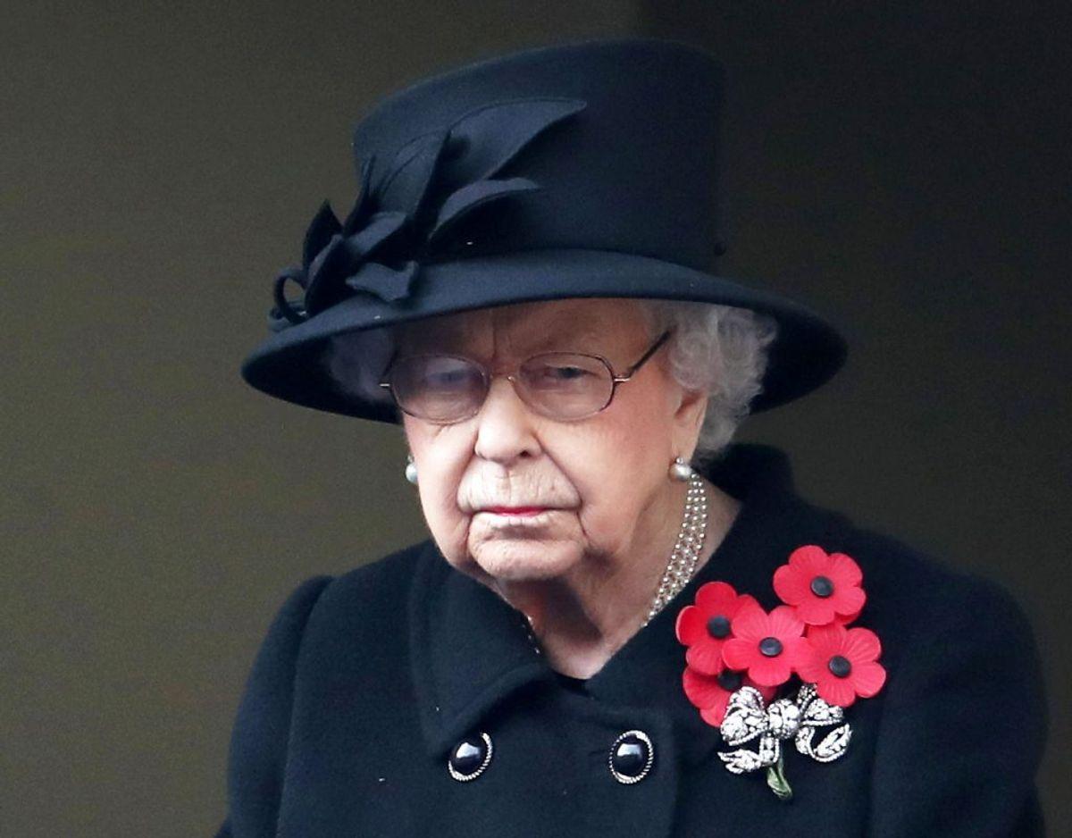Storbritanniens dronning Elizabeth blev mandag erklæret død. Hun er – trods fremskreden alder – spillevende. Foto: Scanpix