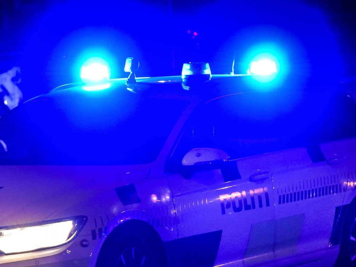 På Midtjyske Motorvej er der sket et større uheld. Foto: Kim Haugaard/Midtjyske Medier/Ritzau Scanpix