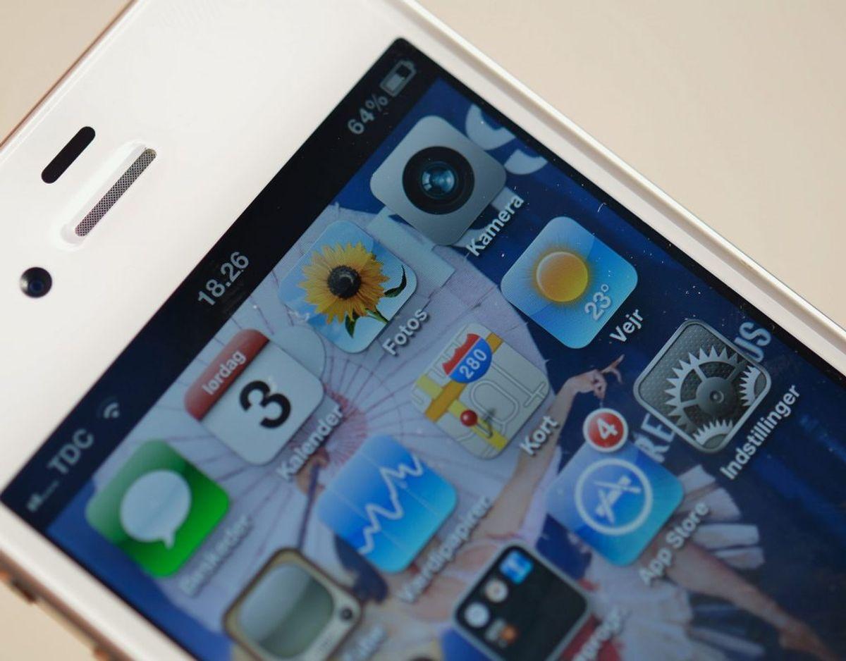 Vær kritisk, når en app beder om adgang til funktioner og indhold i din telefon. Foto: Colourbox.