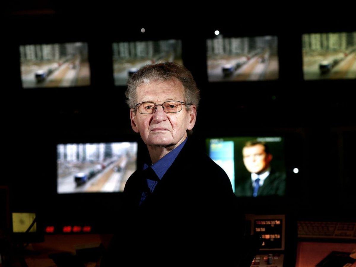 TV-dokumentarist Poul Martinsen er død. Han blev 86 år gammel. Foto: Bjarke ørsted/Ritzau Scanpix.