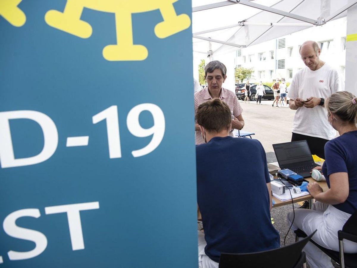 I alt er 3.181.467 personer nu blevet testet i Danmark. (Foto: Helle Arensbak/Ritzau Scanpix)