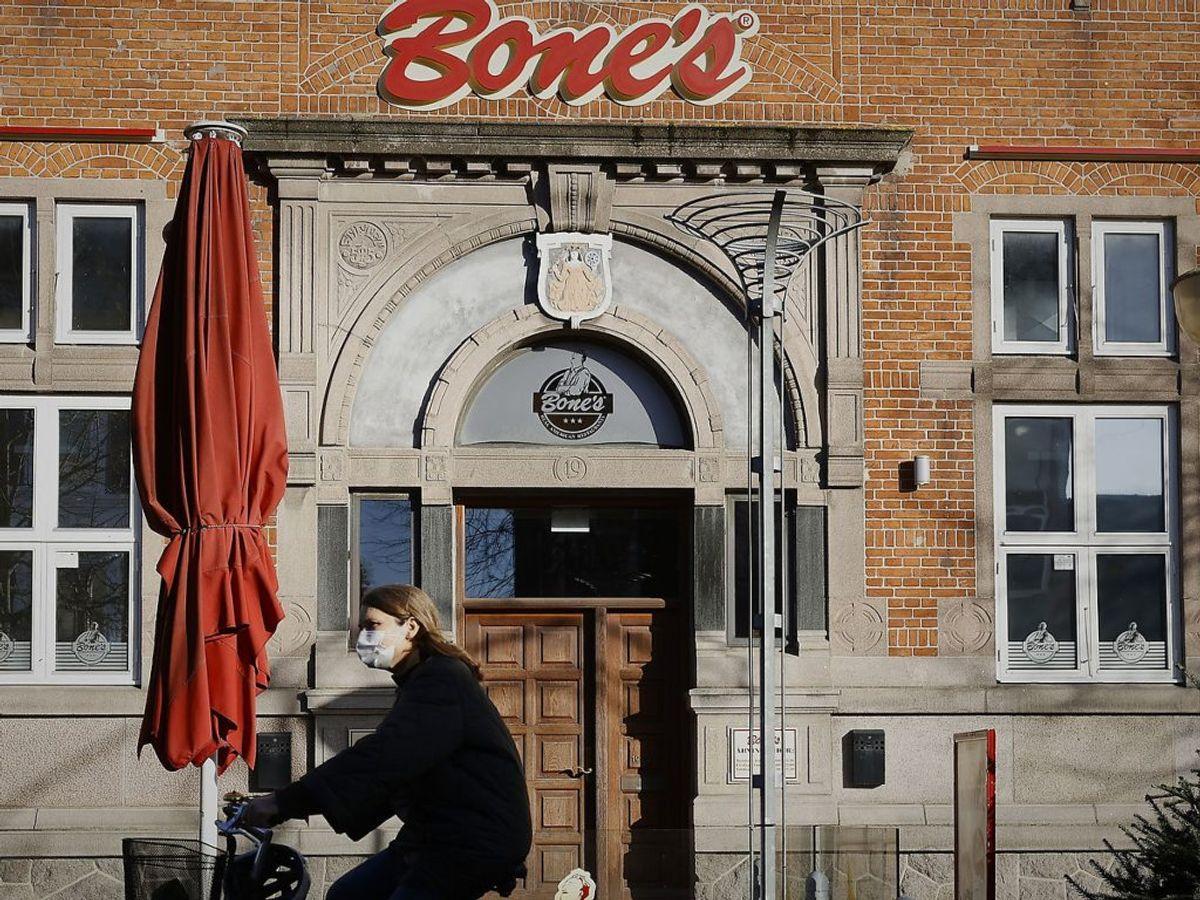 Alle restauranter skal lukke for alt andet end take away. Foto : Claus Bjørn Larsen/Scanpix 2020