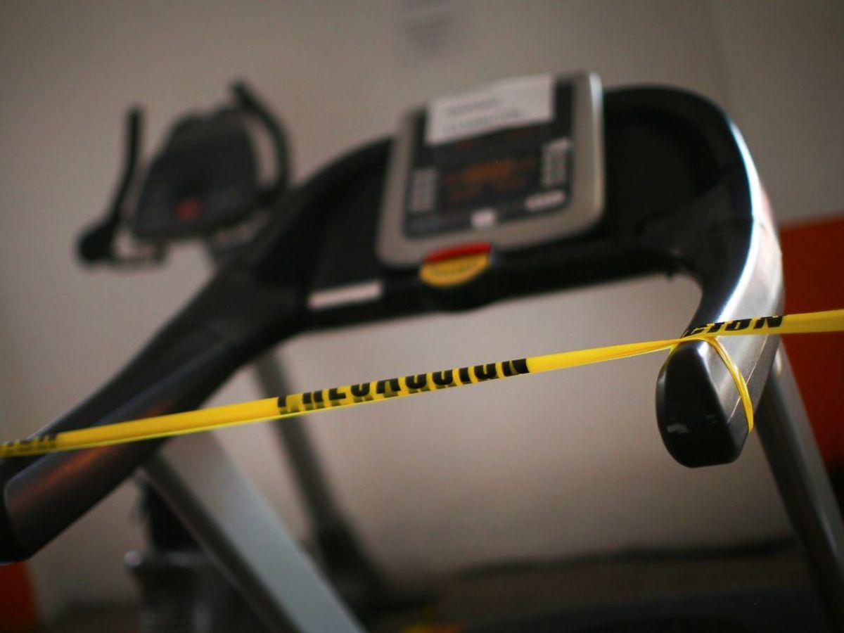 Al indendørs idræt forbydes – inklusive fitnesscentre. Foto: Edgard Garrido