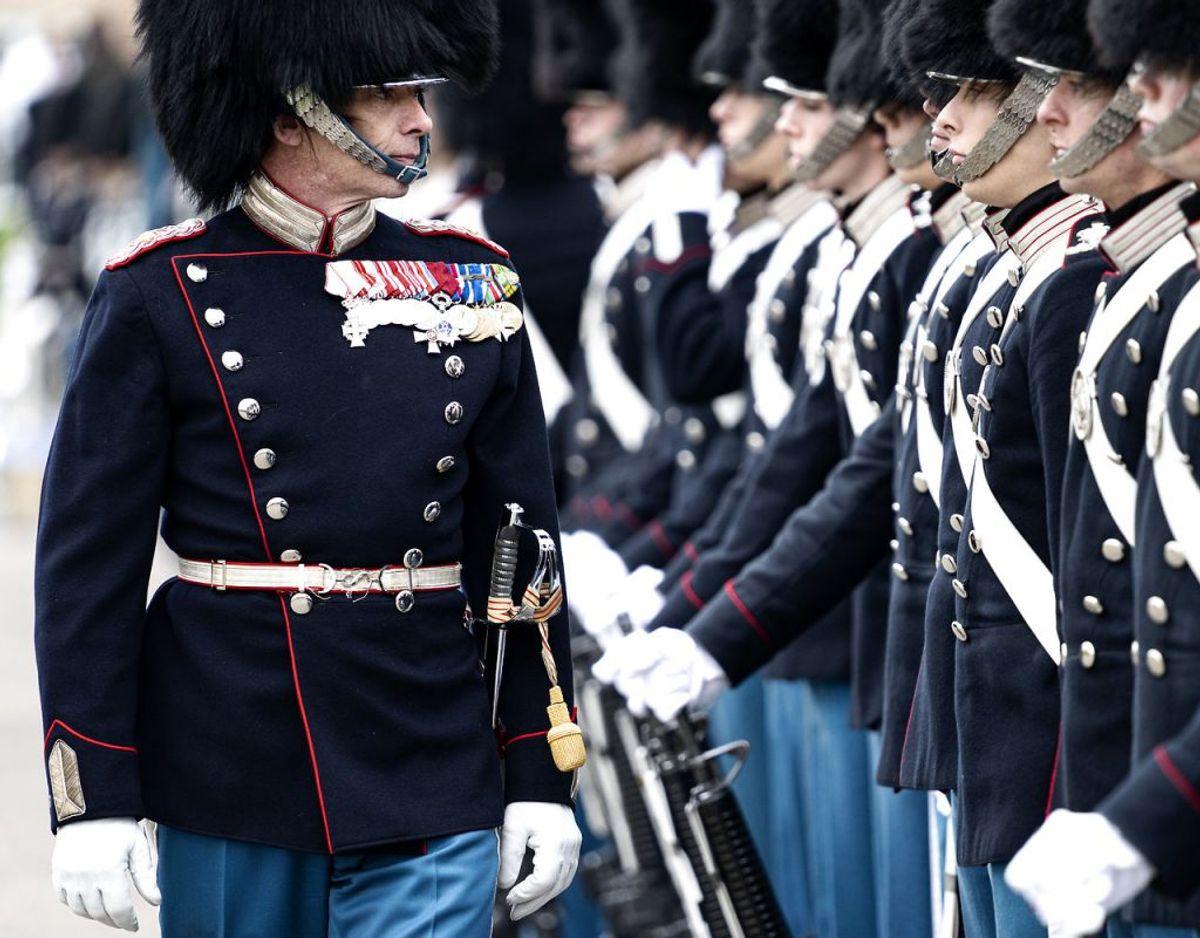 Uret bliver uddelt i forbindelse med en urparade. Foto: Ida Guldbæk Arentsen/Ritzau Scanpix