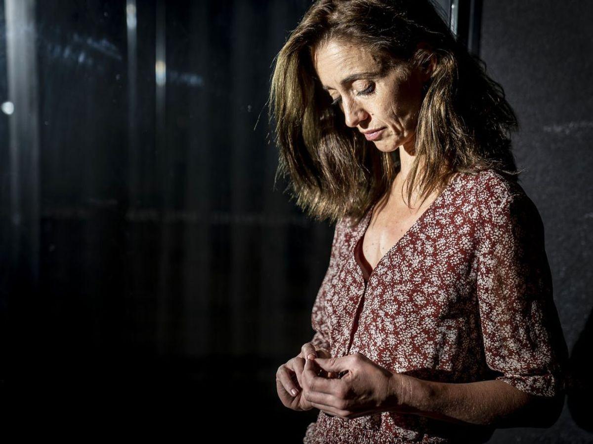 Skuespiller Christine Albeck Børge mødte personer, der har erfaring med tvangsfjernelse i forbindelse med rollen. Foto: Mads Claus Rasmussen/Ritzau Scanpix