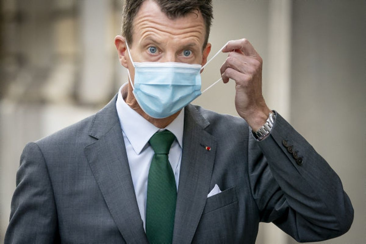 Coronarestriktioner er der også i Frankrig, og det har givet Prins Joachim en speciel jobstart som forsvarsattaché. (Arkivfoto) Foto: Mads Claus Rasmussen/Scanpix