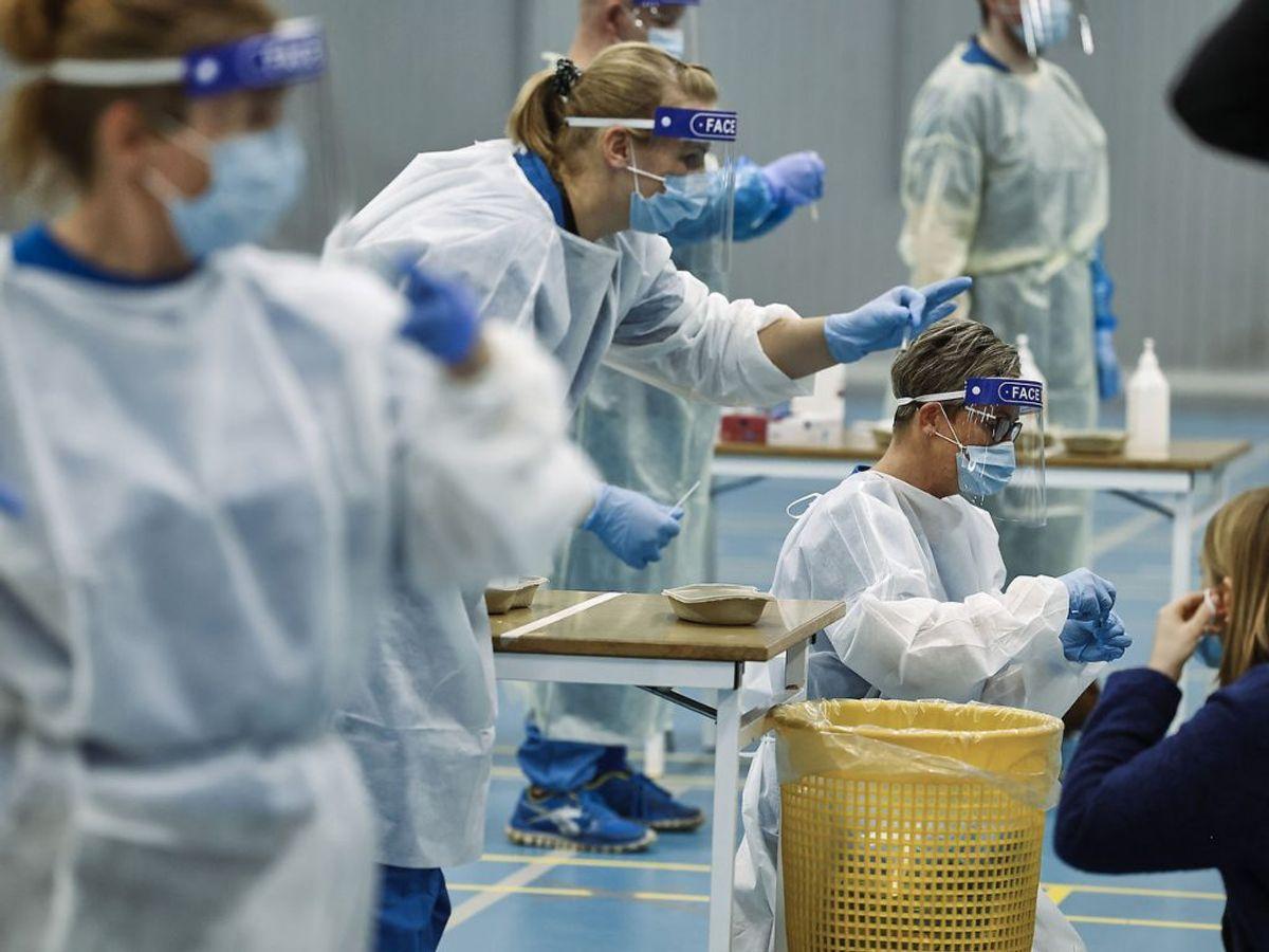 En ny måling viser, at hver femte dansker ikke er overbevist om, at corona er farligere end almindelig influenza. Foto : Claus Bjørn Larsen/Scanpix 2020
