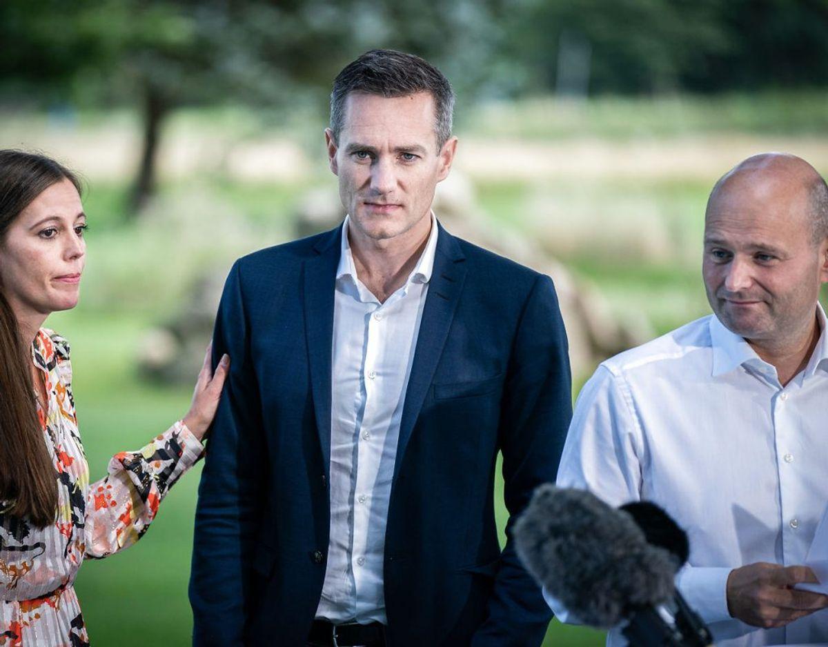 Rasmus Jarlov og de Konservative er blandt underskriverne. (Foto: Niels Christian Vilmann/Scanpix)