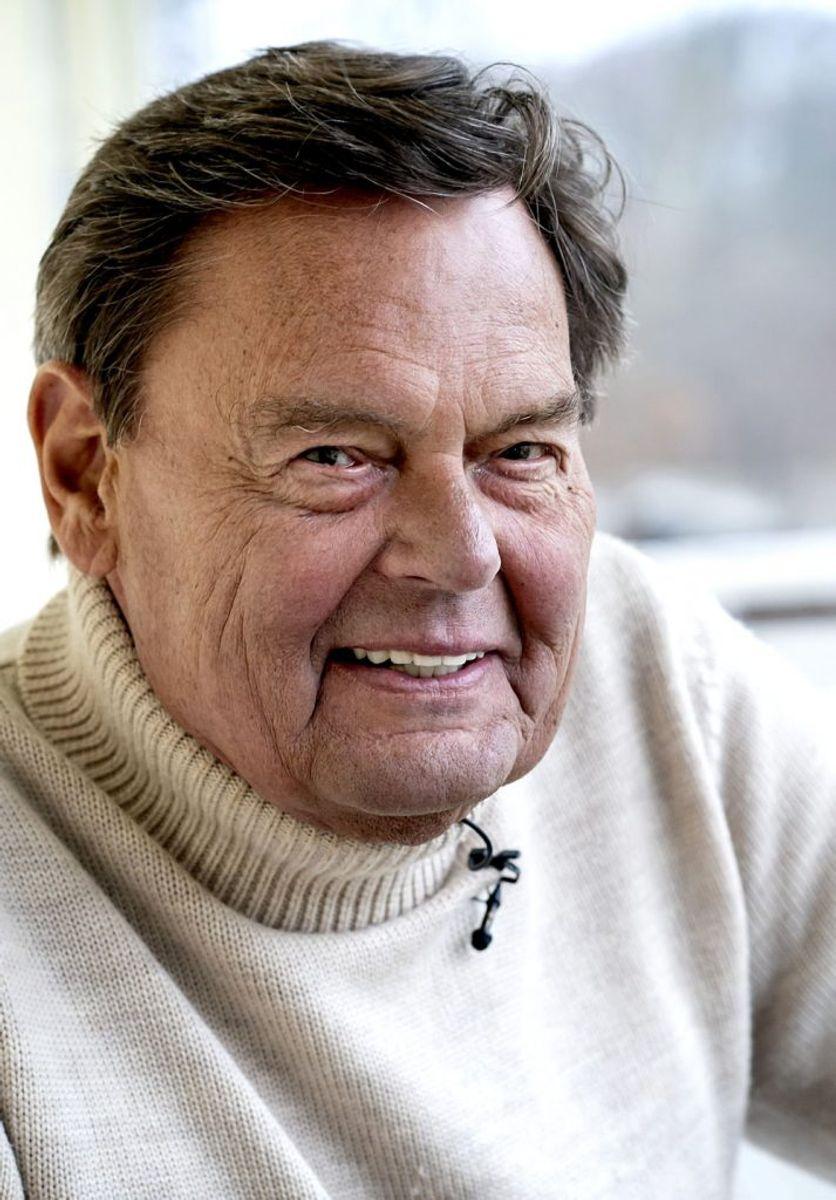 Søndag 15. november fylder skuespiller Ulf Pilgaard 80 år. (Arkivfoto) – Foto: Keld Navntoft/Ritzau Scanpix