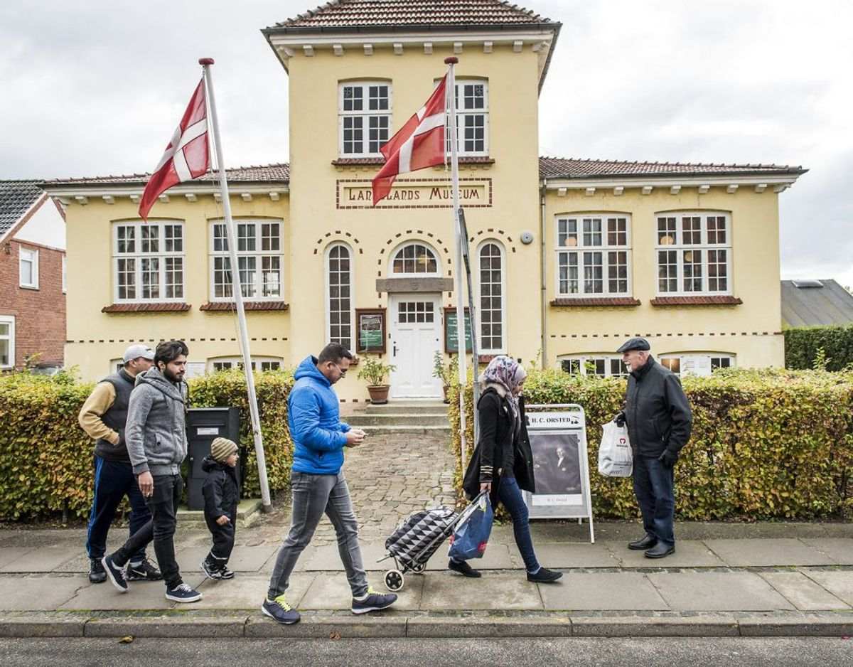 Langeland: 24,1 smittede per 100.000 indbyggere den seneste uge. Det er i faktiske tal tre.
