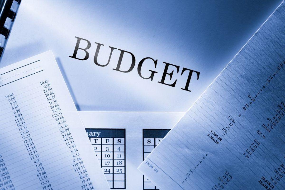 Et budget over din indkomst og dine faste udgifter. Kilde: Forbrugerrådet Tænk. Arkivfoto.