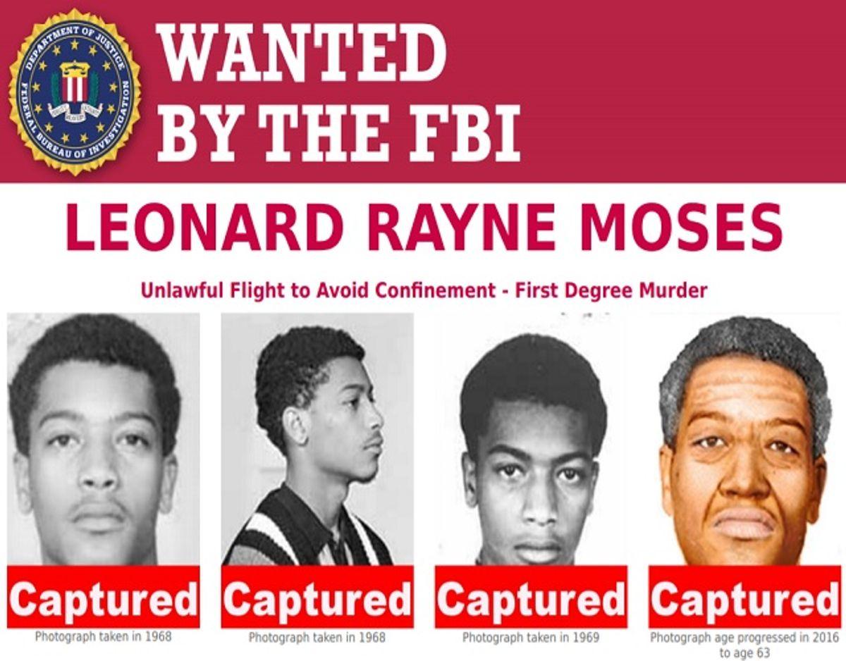 Sådan så der ud på FBIs hjemmeside. Foto: FBI.