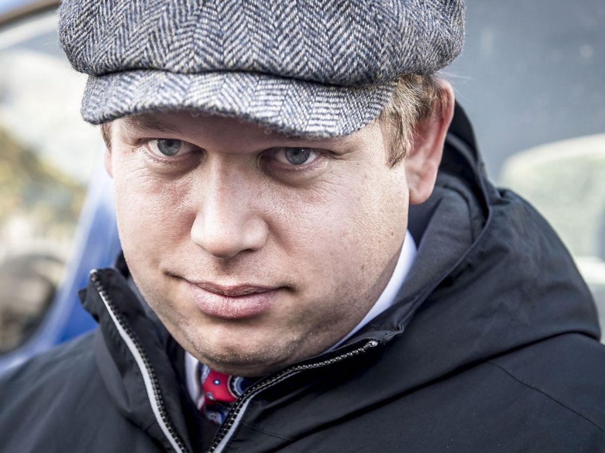 Rasmus Paludan er blevet anholdt i Paris. Foto: Mads Claus Rasmussen/Ritzau Scanpix