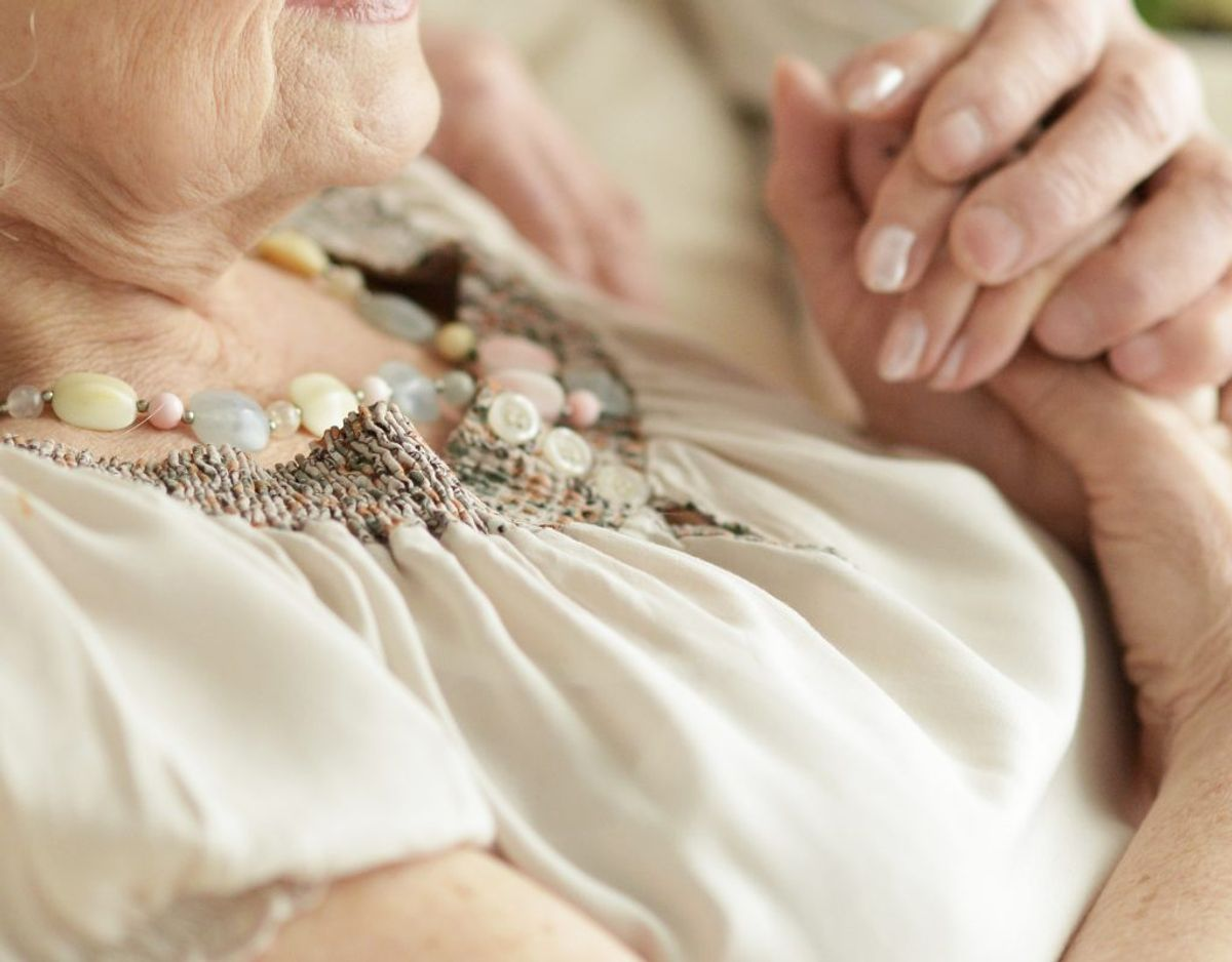 Parret var gift i mere end 70 år. Arkivfoto: Colourbox.