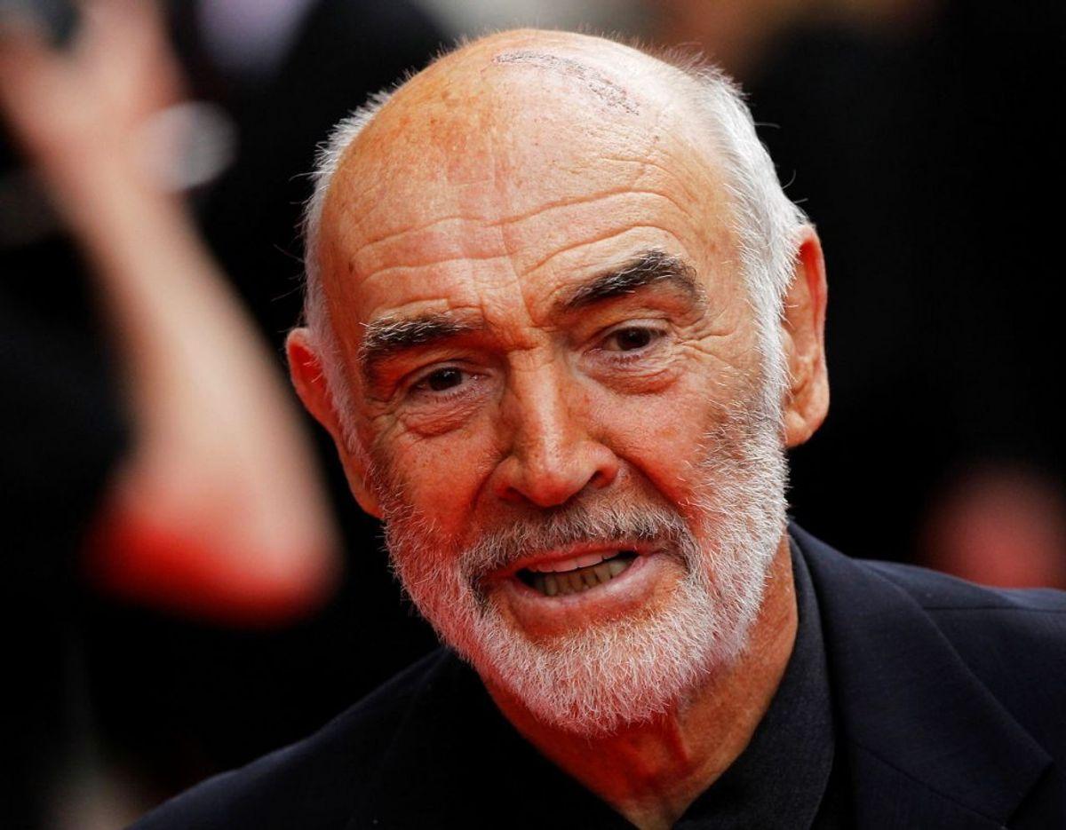 Sean Connery afgik ved døden den 31. oktober 2020. Foto: Scanpix/REUTERS/David Moir/