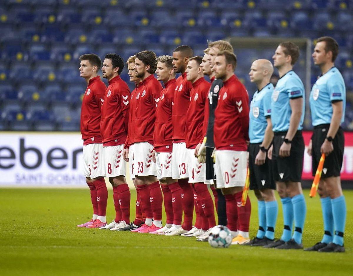 Danmark havde fire debutaner med fra start. Foto: Liselotte Sabroe / Scanpix